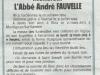 Funerailles Abbé André Fauvelles 2013