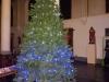 Montage du sapin de Noël à Farciennes Centre