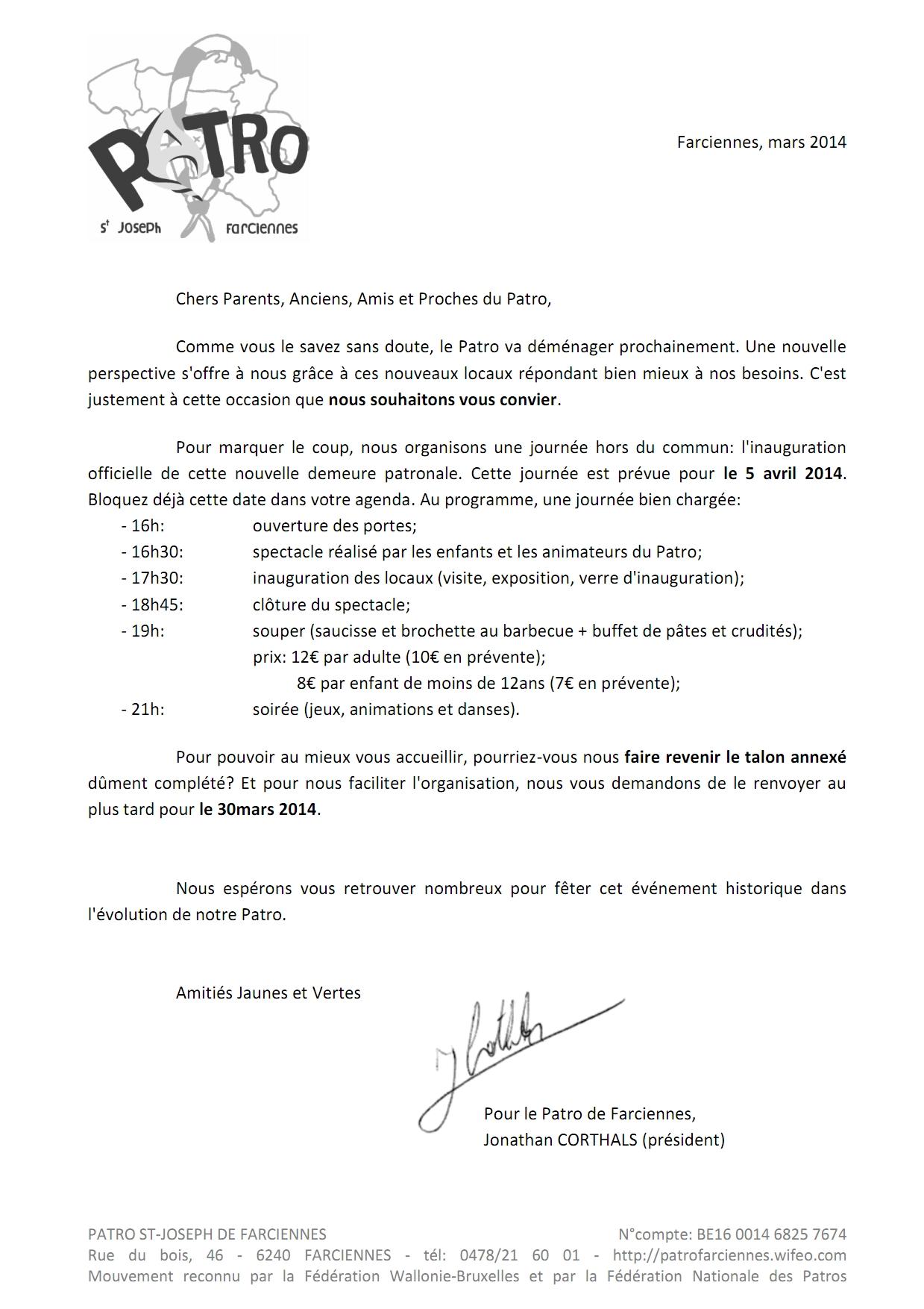 2014 - lettre d'accompagnement de l'invitation_001