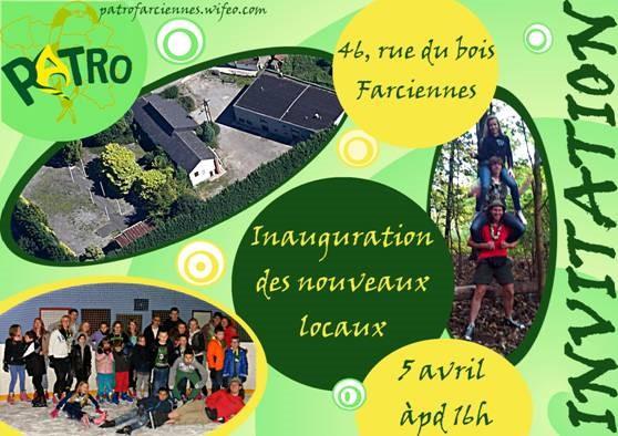 patro farciennes invitation 2
