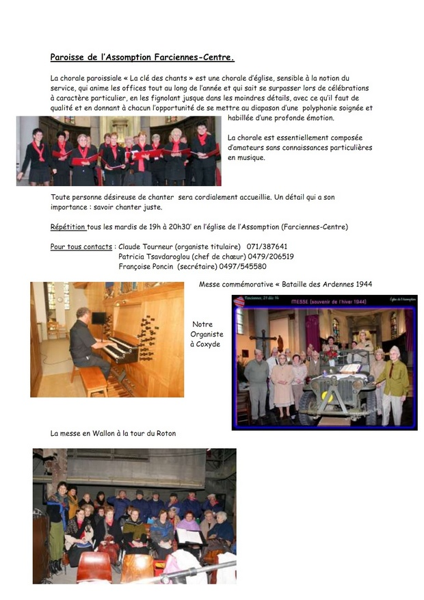 article La chorale paroissiale_001