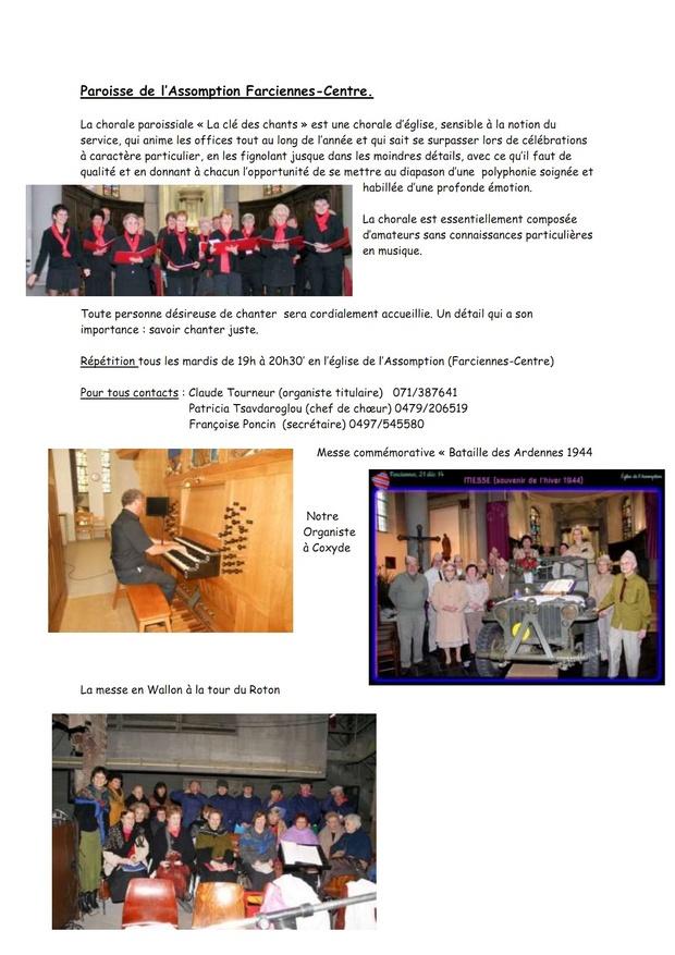 article La chorale paroissiale_001